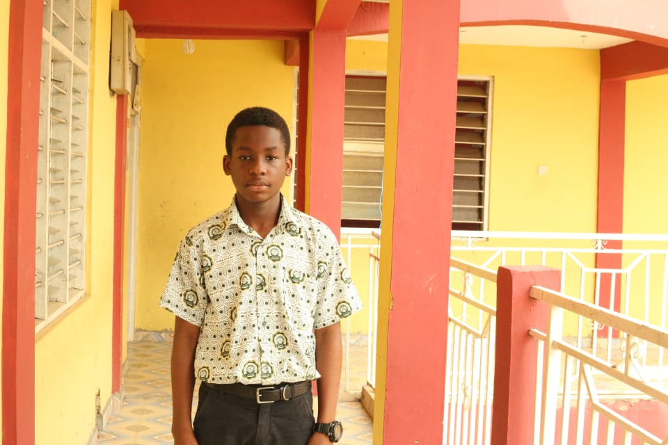 Master Solomon Asante - Boys' Prefect
